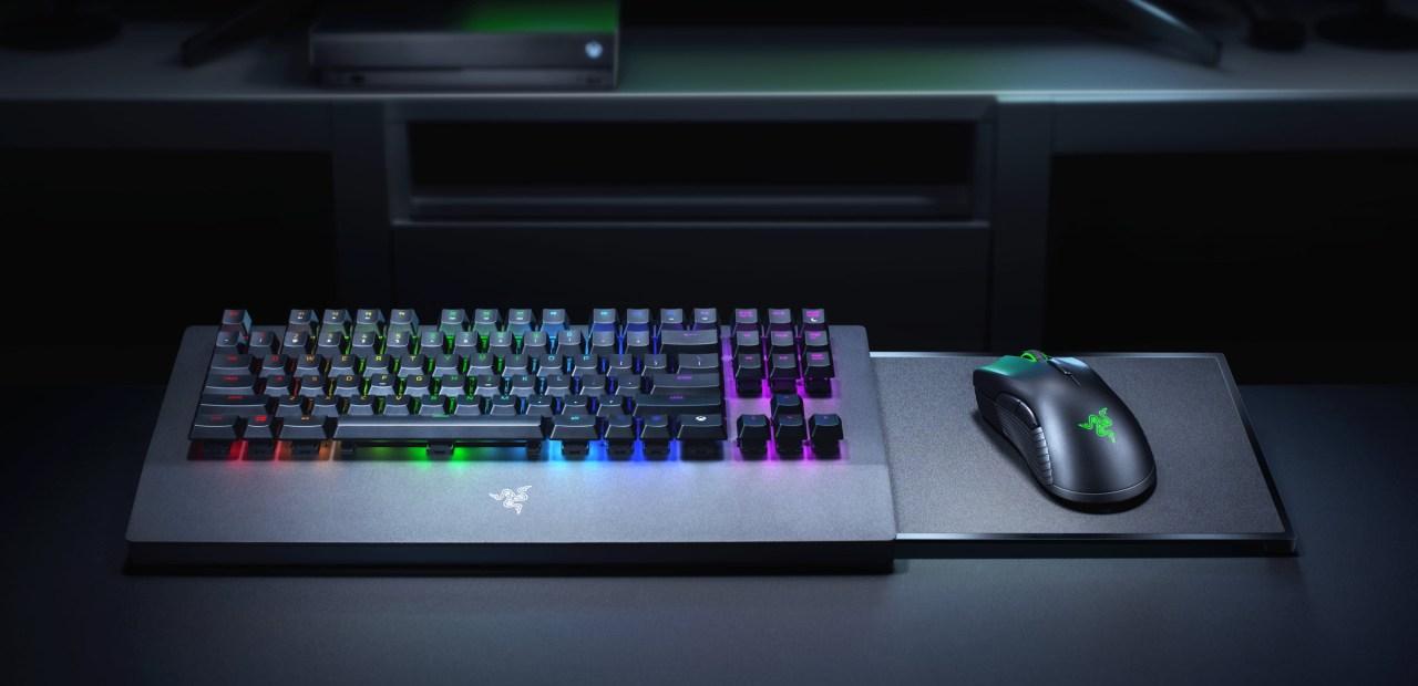 Razer a signé un partenariat avec Microsoft pour une gamme de claviers/souris sans fil pour Xbox One (et Series)