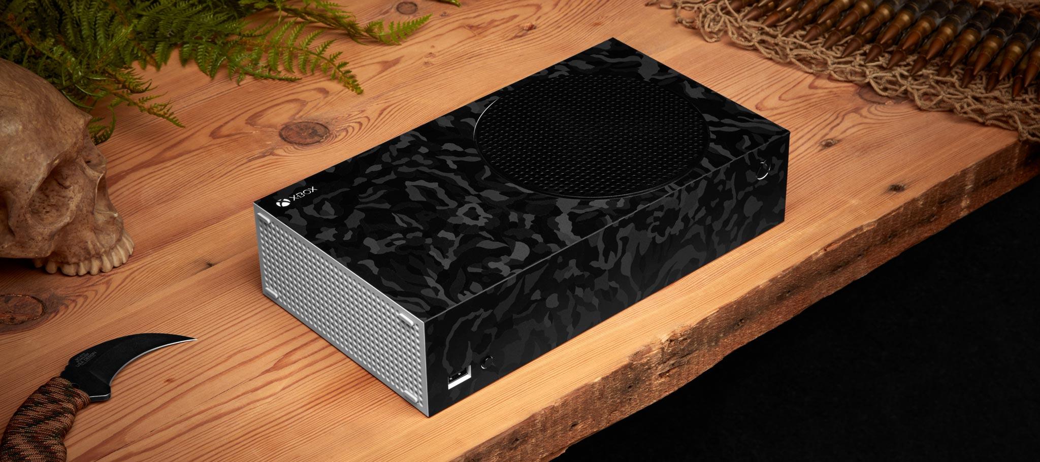 Maintenant, on va parler des SURFACES, mais j'illustre encore avec une Xbox Series S