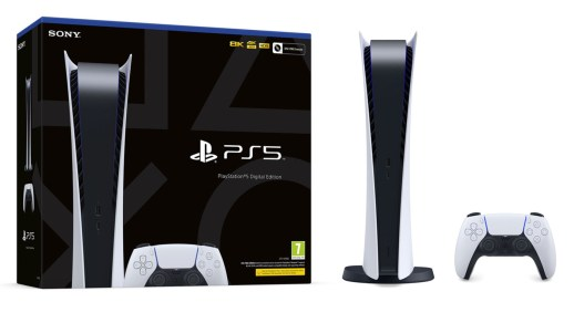 La PS5 Digital Edition en stock