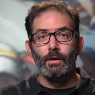 Jeff Kaplan of the Overwatch Team.