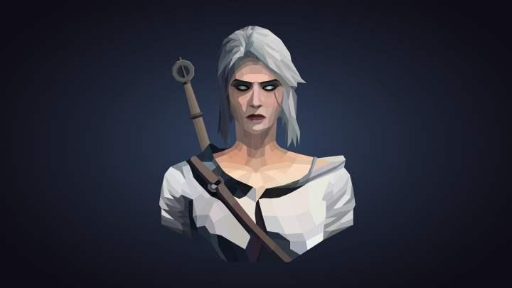 Elle me rappelle Ciri de The Witcher III, pas vous ?
