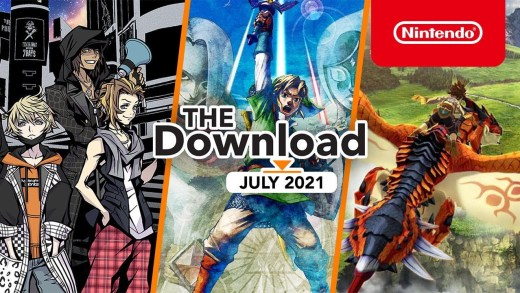 The Download – July 2021 – Skyward Sword HD, MH Stories 2, & NEO: The World Ends with You!