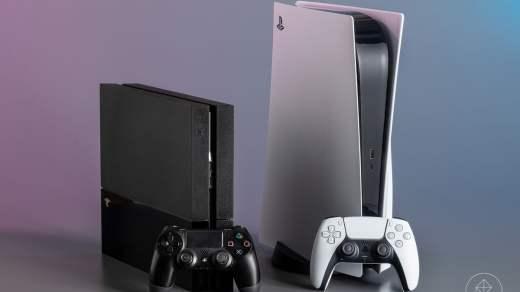 PS4 et PS5 (image par Polygon)
