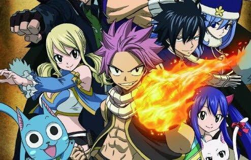 6 Anime tương tự Fairy Tail