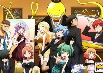 6 Anime tương tự Assassination Classroom