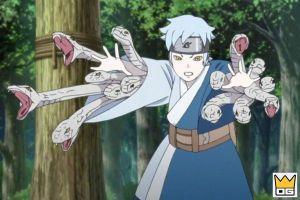 5 nhân vật sử dụng xà thuật trong Naruto và Boruto