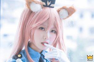Cosplay nàng Cáo Tamamo-no-Mae cực dễ thương trong Fate/Grand Order