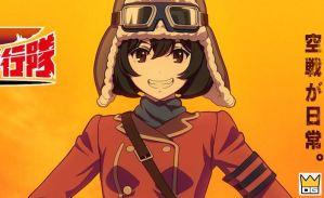 Anime Kouya no Kotobuki Hikoutai tung teaser đầu tiên
