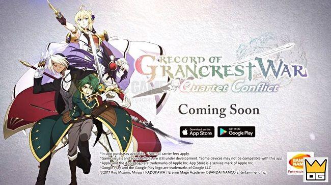 Record of Grancrest War mobile sẽ ra mắt bản quốc tế vào cuối năm