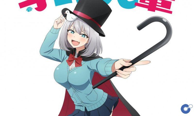 Anime Tejina Senpai tung visual mới ấn định ngày ra mắt