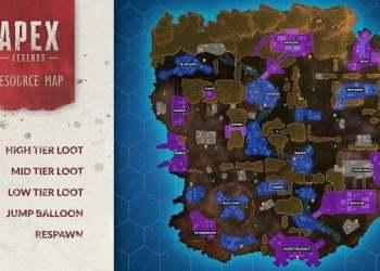Apex Legends: Chi tiết các địa điểm, loot, jump balloon và vị trí hồi sinh
