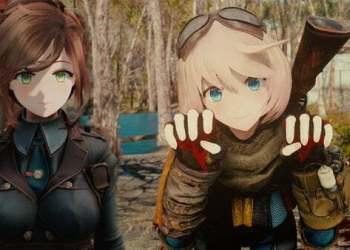 """Bản Mod này của Fallout 4 sẽ giúp các gamer thực hiện niềm ao ước sở hữu dàn """"Harem"""""""
