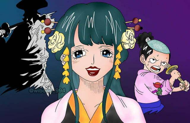 """One Piece: Kozuki Hiyori chính là người """"kế thừa"""" trái ác quỷ thời gian Toki Toki no Mi?"""