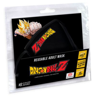 Dragon Ball Z Logo reusable adult face mask