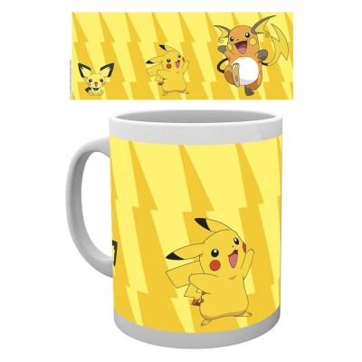 Pokemon Mug Pikachu Evolve