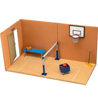 Nendoroid Figures Playset 07: Gymnasium B Set