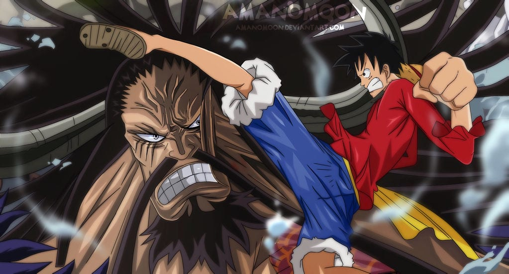 Download free mp4 luffy very angry seeing kaido kill his. Will Luffy Beat Kaido At The End Of Wano Arc Otakukart