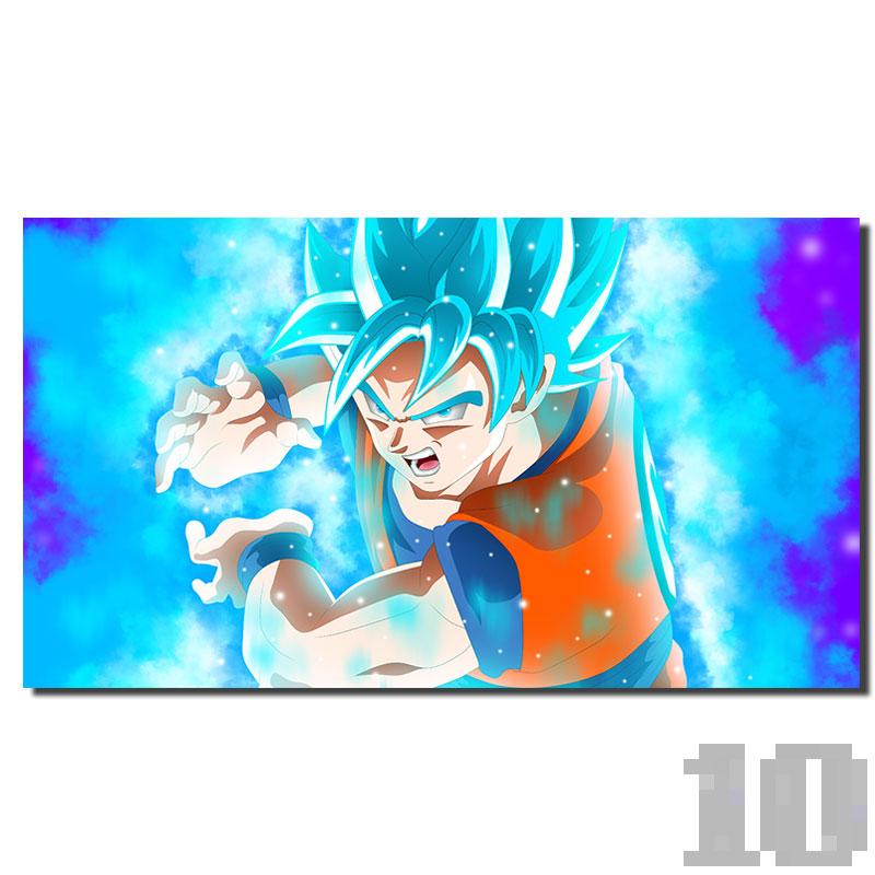 Poster Dragon Ball San Goku God Kamehameha