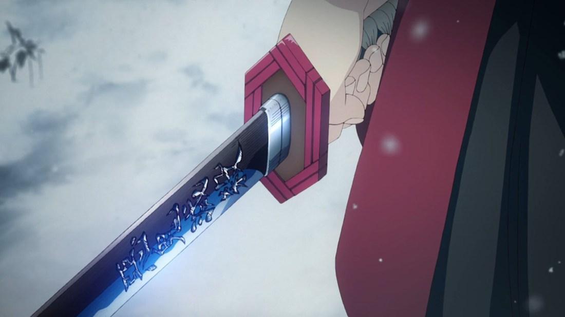 Giyu and his sword