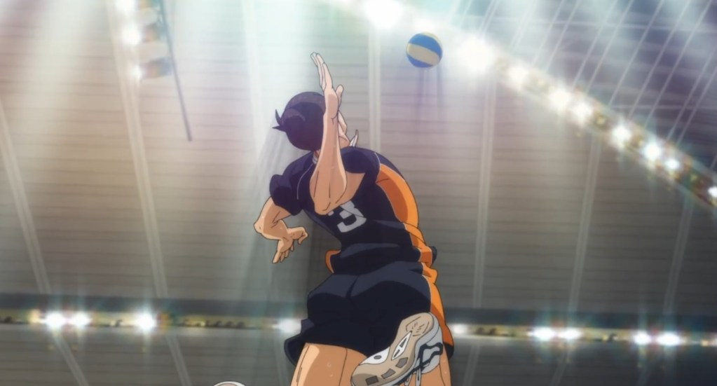 In episode 11 of Haikyuu!! To the Top, Kageyama takes over the game. Asahi is the unsung hero of the game.