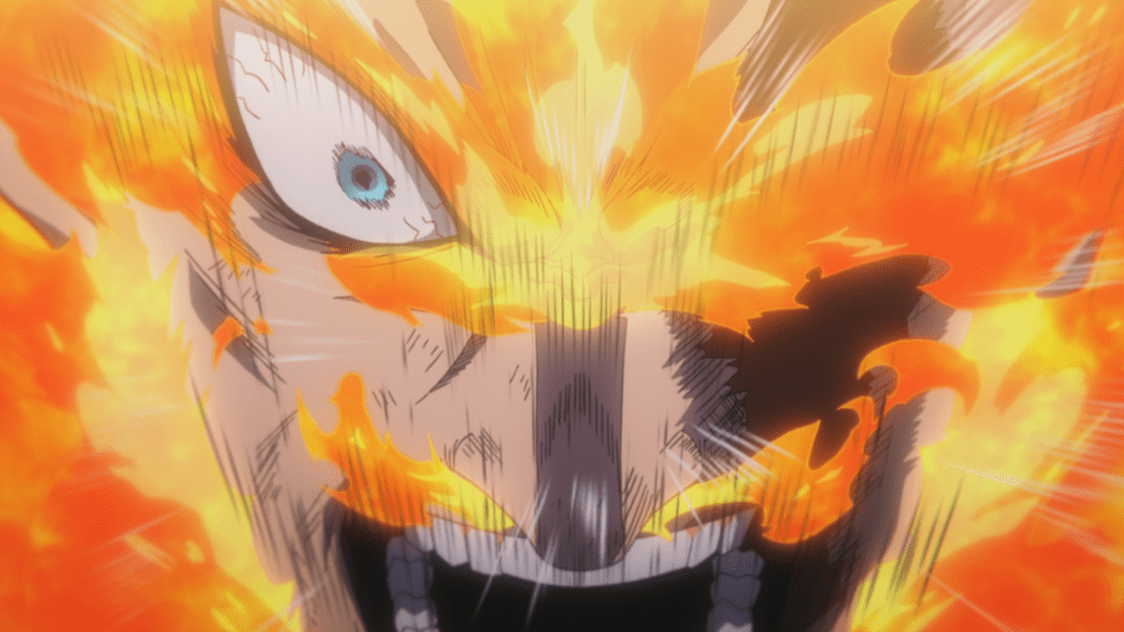 In episode 88 of My Hero Academia, Endeavor refused to give up.