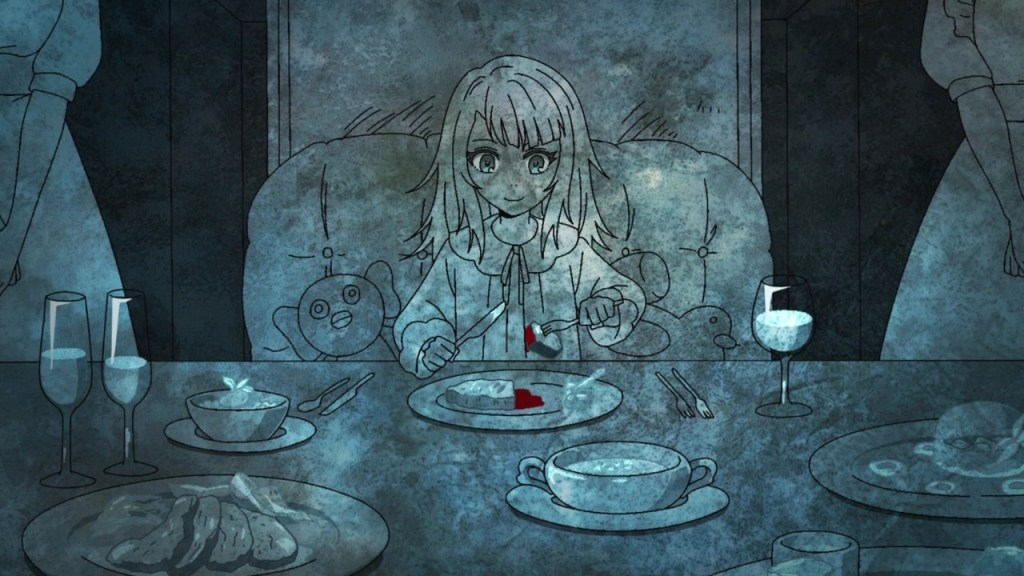 Endorsi eating alone in episode 9 of Tower of God