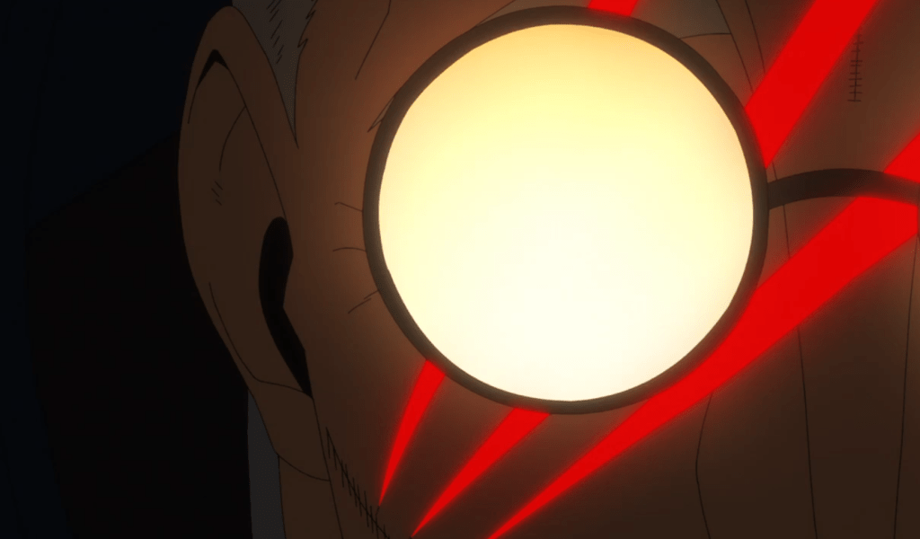 Captain Hague meets his end of Fire Force episode 24.