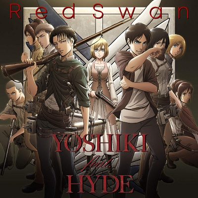 Shingeki no Kyojin Season 3 OP Single - Red Swan