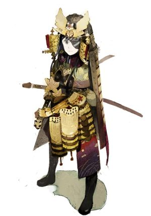This picture is somewhat unrelated to the post - but it's a samurai, so…