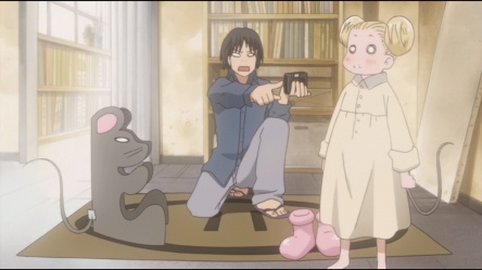 vlcsnap 2011 03 28 00h30m19s61 Honey and Clover Collection 1   Review