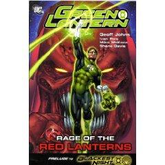 Green Lantern Rage of the Red Lantern