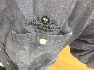 グレンスフォシュブルークスのダンガリーシャツ