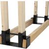 海外のログラック用金具「Sunnydaze Steel Firewood Log Rack Bracket Kit」について