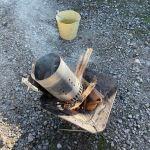 【やってます】生ハムの燻製と屋外バーベキュー