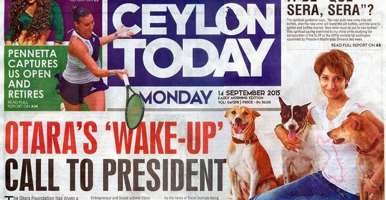 Otara Ceylon Today