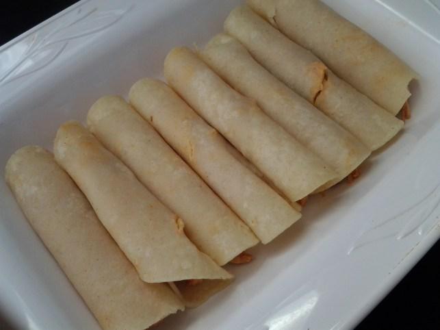 rolled enchiladas