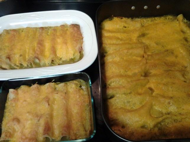 enchiladas for 15