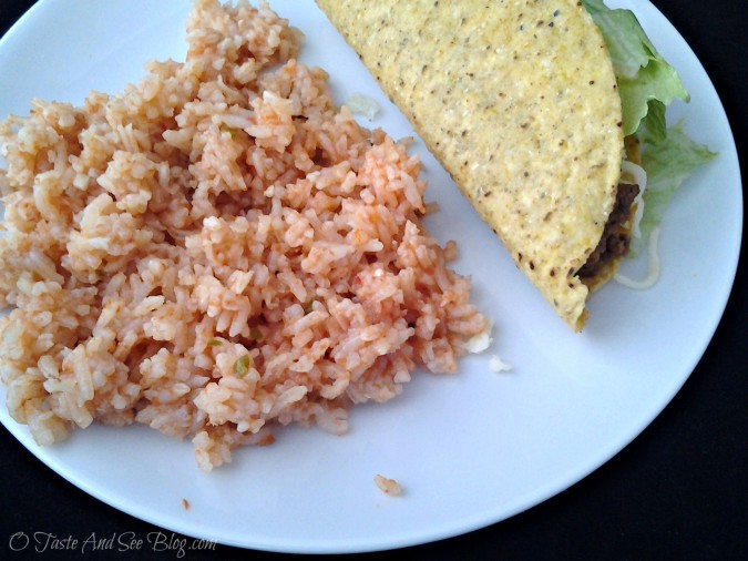 Authentic Mexican Rice 1