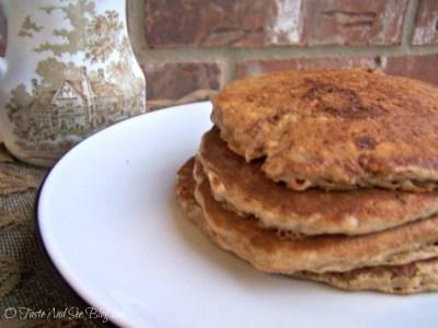 Oatmeal Cookie Pancakes 009