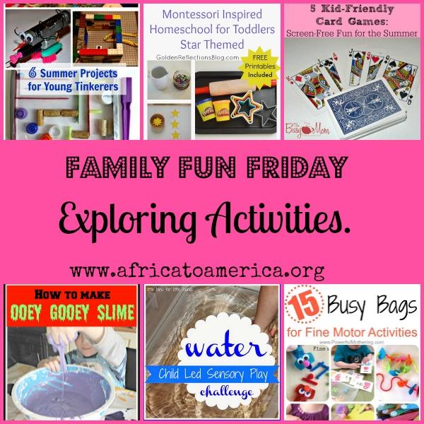 exploring activities