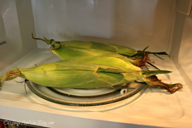microwave corn on the cob 1