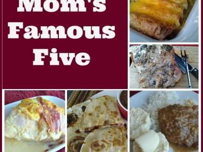 moms famous five