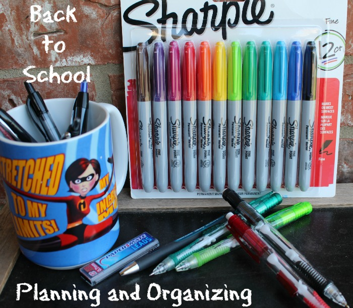 Back to school planning and organizing office depot #sp