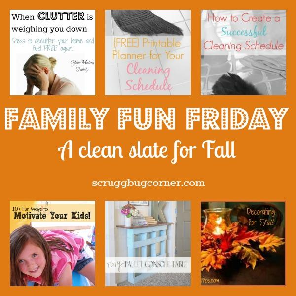 a clean slate for fall