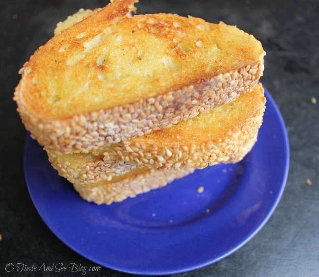 healthy garlic bread 035