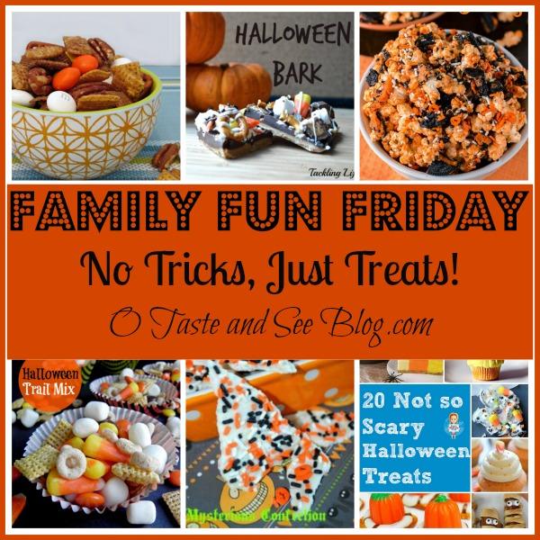 no tricks just treats family fun friday