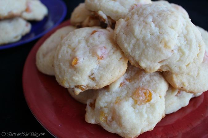 Apricot sugar cookies