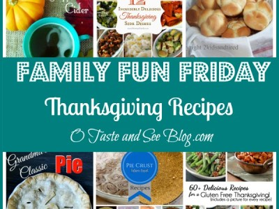 Thanksgiving recipes Family Fun Friday
