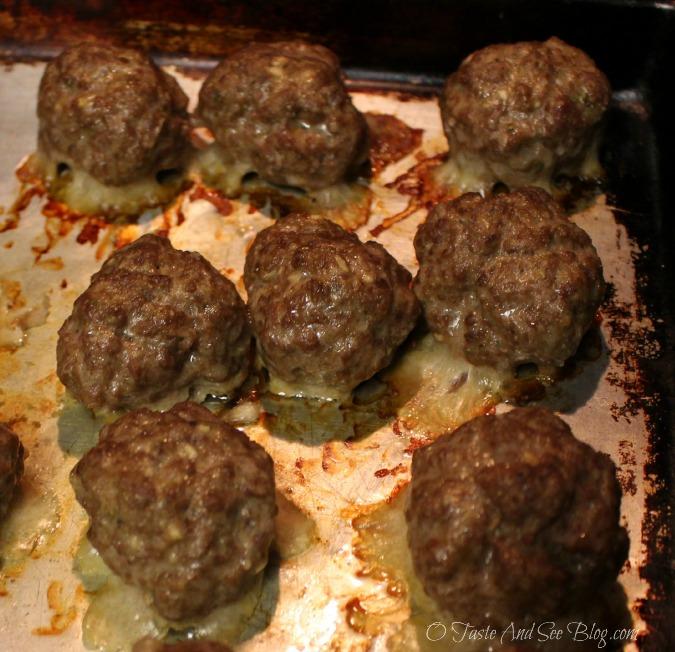 baked meatballs