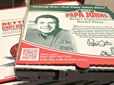 Papa John's #BetterIngredients #sp